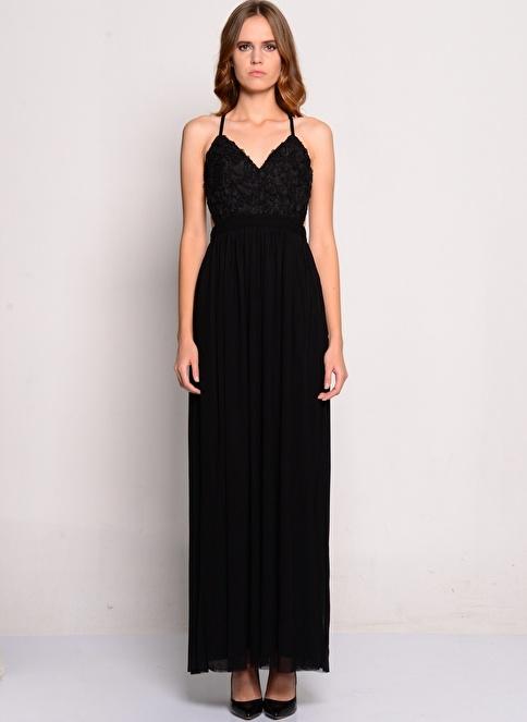Rare London Elbise Siyah